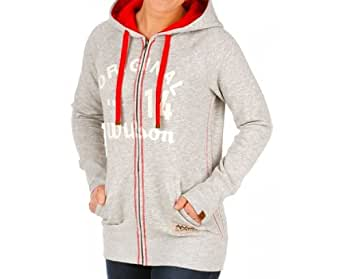 Wilson 100 Years Full Zip Women's Sweatshirt (Large)