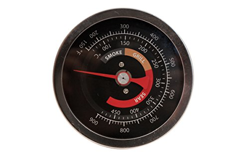 BBQ Thermometer Ceramic oven thermometer Fits for Kamado Grill Joe and Any Other Charcoal Smoker