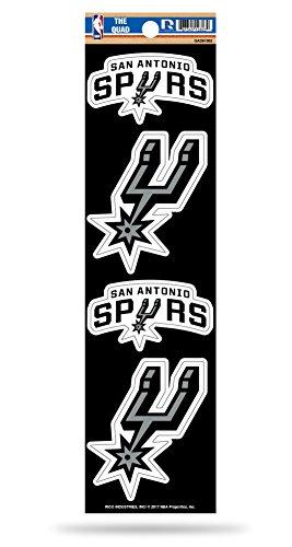 NBA San Antonio Spurs Quad Decal by Rico