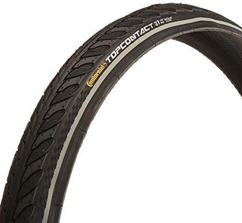 Continental Top Contact II Fold Reflex Bike Tire, Black, ...