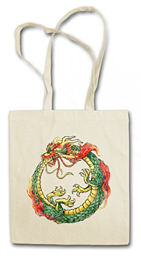 OUROBOROS INFINITY CHINESE DRAGON HIPSTER BAG – serpe Drago Uroboro Uroboros Ancient Myths Mythologie Snake Asia Tattoo Japanese Art Flash Oldschool