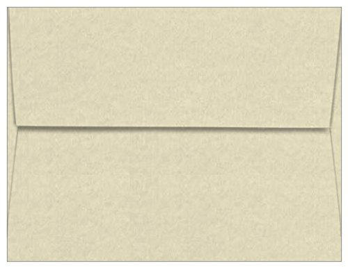 A2 Natural Straight Flap Envelopes, Astroparche 60lb, 1000 pack