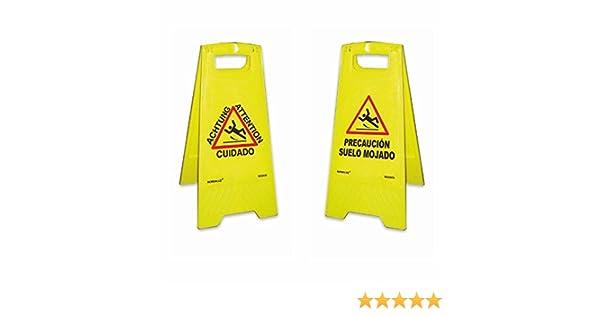 Normaluz RD30070 - Panel Panel Precaución Suelo Mojado Plastico 62 cm