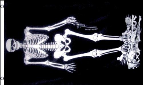 Skeleton Pirate Flag 3x5ft -