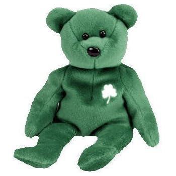 Amazon.com  Ty Teenie Beanie - Erin the Bear (Ireland) International ... 2070da420545