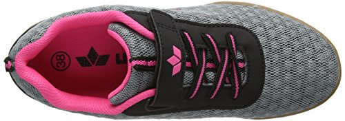 Deporte Pink Cheer Lico Gris de Zapatillas Grau Grau Vs para Mujer Interior Pink q6I6va