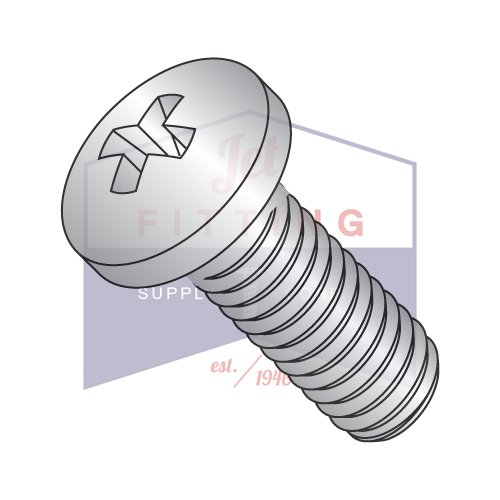 18-8 Stainless Steel Pan Head Phillips DIN7985A QUANTITY: 700 pcs M6-1.0 x 16 mm Machine Screws