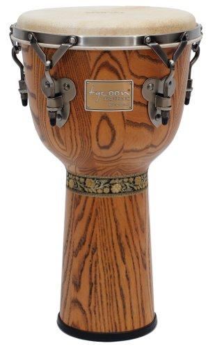 Tycoon Djembe Head - Tycoon Percussion TSJG-713BC Signature Grand Series Djembe, 13-Inch