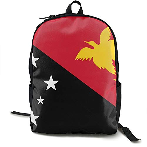Travelling Papua New Guinea - Xnio Flag Papua New Guinea 3D Printing Outdoor Leisure Sports Backpack School Backpack