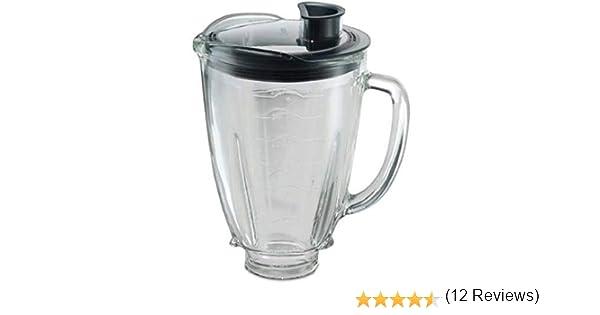 Oster 004936-050-000 - Jarra de vidrio redonda 6 tazas (1.5 l) con ...