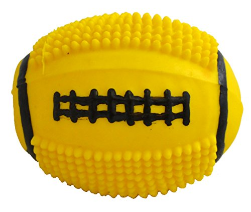 Vo Toy Toys Latex - Amazing Pet Products Latex Dog Toy, 4-Inch, Spiny Football
