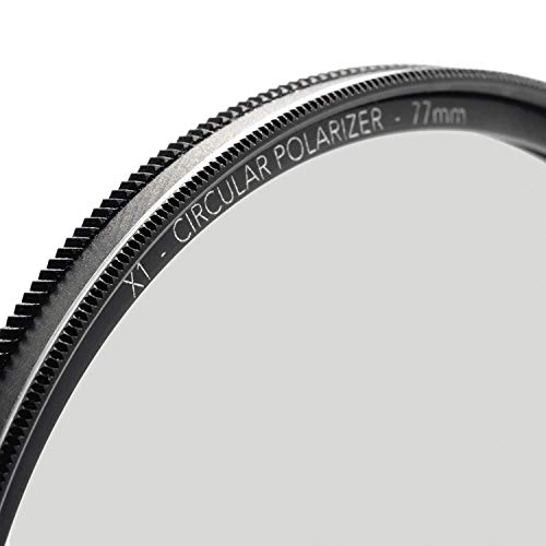 60mm X1 Circular Polarizer, MRC8, Ultra-Slim, Weather Sealed + Free Mircofiber Lens Cloth