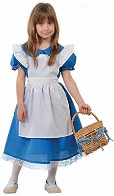Disfraz de Alicia del Bosque para niña - 10-12 años: Amazon.es ...