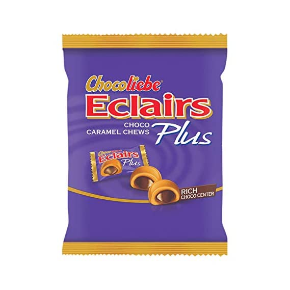 Chocoliebe Eclairs Plus Pouch, 46 Pieces, 156.4 g