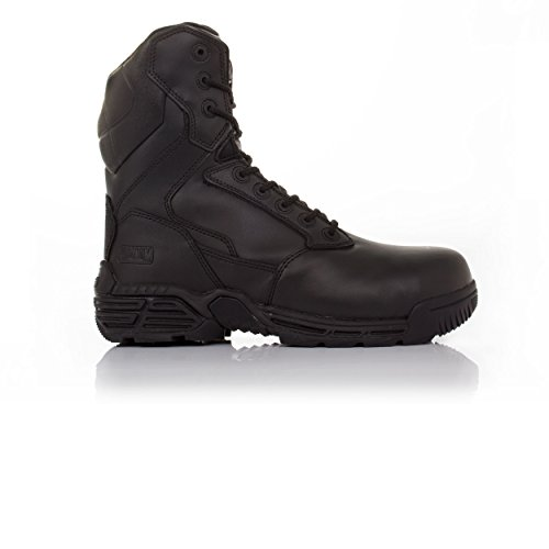 - Magnum Stealth Force 8.0 Leather CT CP Walking Boots - 8 - Black