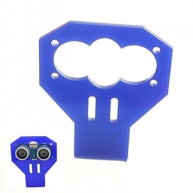 Convenient Car Mounted Acrylic Holder for HC-SR04 Ultrasonic Transducer