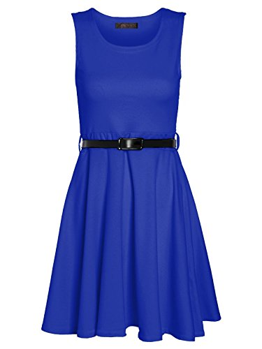 Envy Boutique - Vestido - para mujer azul cobalto