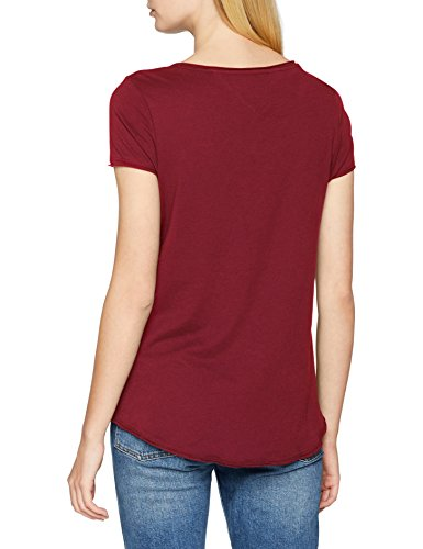 Donna jeans Red 610 Jersey Tommy rumba Vestaglia Tee Rosso Tjw Soft RYFwZ1q