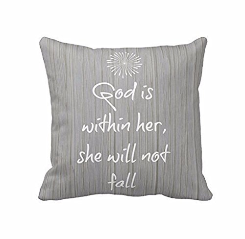 Usstore Pillow Case Cover Pillowslip printed Distinctive Perfect Home Decor (B)