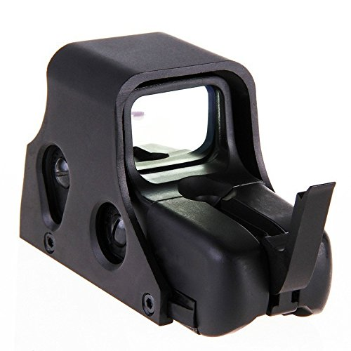 Mini Holographic Reflex Sight Red Dot Rifle Scope Tactical Light Adjustable Brightness Gun Sights