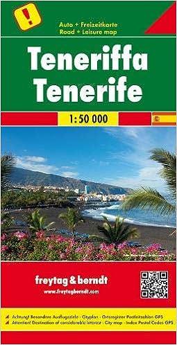 Tenerife, mapa de carreteras. Escala 1:50.000. Freytag & Berndt.: Toeristische wegenkaart 1:50 000 Auto karte: Amazon.es: VV.AA.: Libros