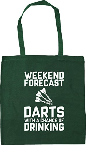 Weekend of 42cm Chance Bag Green Tote Gym Darts litres a Forecast HippoWarehouse x38cm Beach Shopping 10 Bottle with Drinking dqOYwHX
