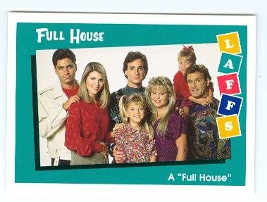 Full House trading card 1991 Impel Laffs #26 Family ()