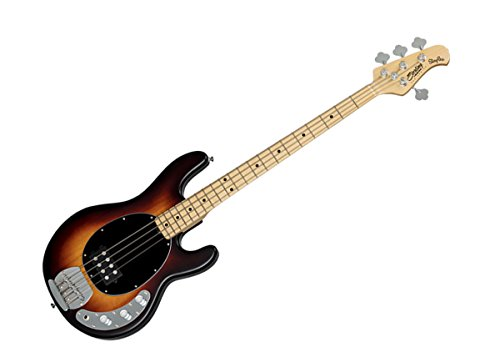 Sterling by Music Man S.U.B. Series Ray4 Bass Guitar (Vintage Sunburst Satin)