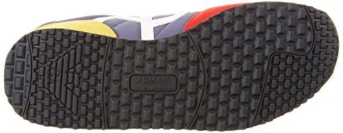 Armani 9350277p420 - Zapatillas Hombre Multicolor (Multicolor)
