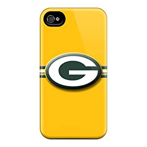 KimberleyBoyes Iphone 4/4s Scratch Protection Phone Case Allow Personal Design Beautiful Green Bay Packers Skin [bkT6526JQqY]