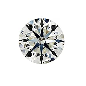 GIA Certified Natural 0.90 Carat Round Diamond with L Color & SI2 Clarity