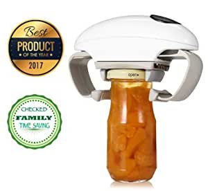 Electric Jar Opener One Touch Canning Jar Hands Free Jar