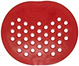 Impact 1440 Pee Wee Deodorizing Urinal Screen with Cherry Scent, 5-1/2'' Length x 6-3/8'' Width, Red (Case of 250)