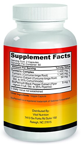 Turmeric Curcumin with BioPerine 1 Strongest Potency with Greatest Support 2 Month Supply Order Risk Free