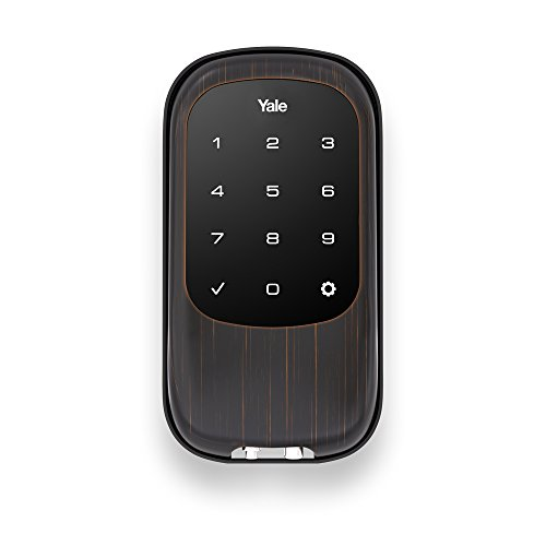 Yale Security YRD120NR0BP Keyless Touchscreen, Oil Rubbed Bronze ()