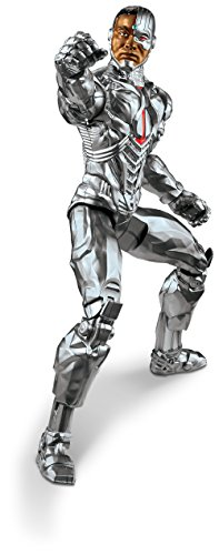 Mattel DC Justice League True-Moves Series Cyborg Figure, 12