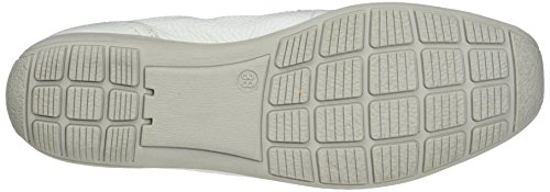 Caprice Damen 24661 Slipper Weiß (WHITE DEER)
