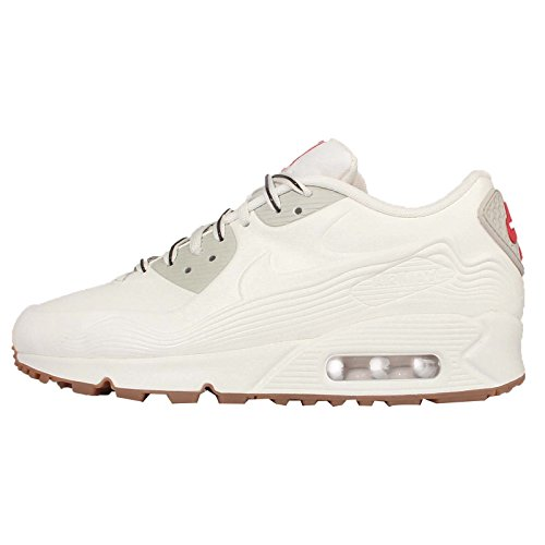 Nike–Air Max 90VT QS–bianco beige chiaro in velluto marrone–813153–100