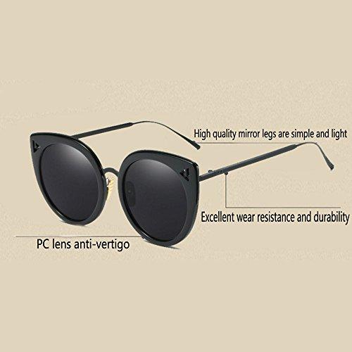 hommes femmes lunettes tendance Magnifiques gray lunettes et soleil grandes de rondes vintage rondes Owq8fgYSq