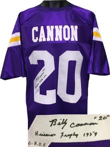 0680c833f68 Image Unavailable. Image not available for. Color  Signed Billy Cannon  Jersey ...