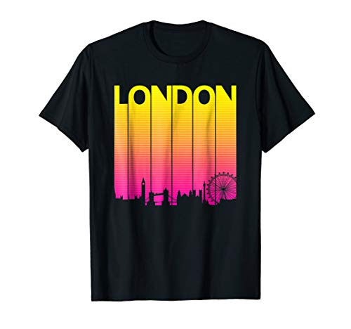 Vintage Retro London T-Shirt England Souvenir