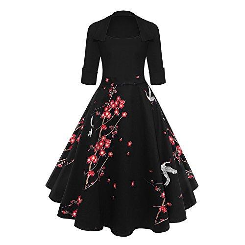 80s red prom dress - 5