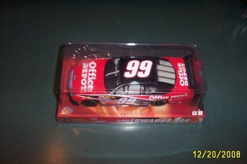Carl Edwards #99 Office Depot Ford Fusion Car of Tomorrow Today COT Winners Circle 1/24 Scale by Winners - Edwards Office Carl Depot 99