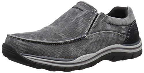 Sketchers Mens Slip On Shoes Amazon