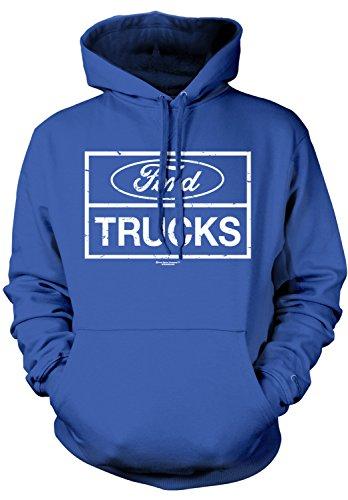 Amdesco Men's Ford Trucks, Officially Licensed Ford Hooded S