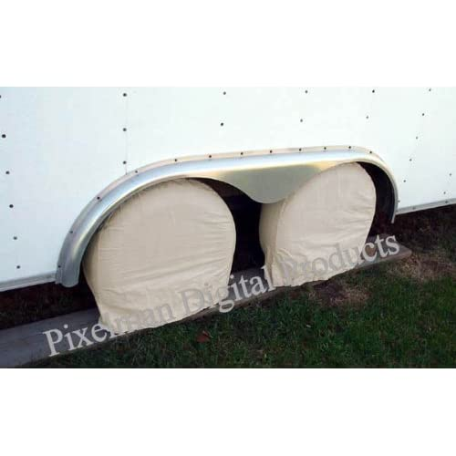 "6 Storage Tire Wheel Covers Camper Car Auto Trailer Truck RV fits 27 28 29 30"" diameter tires supplier"