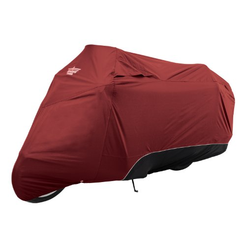 (UltraGard 4-444AB Cranberry/Black Touring Motorcycle Cover)