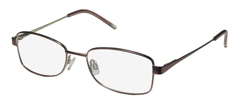 D&A Rowling Womens/Ladies Rx Ready Contemporary Designer Full-rim Spring Hinges Eyeglasses/Eyewear