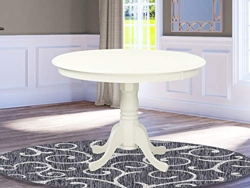 HLT-LWH-TP Table 42 diameter Round Table -Buttermilk and Cherry