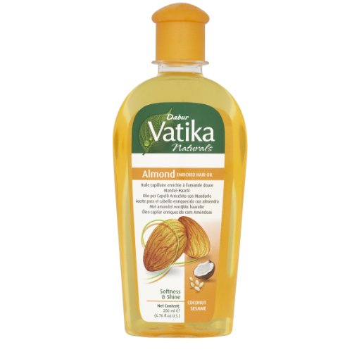 Dabur Vatika Naturals Almond Enriched Hair Oil